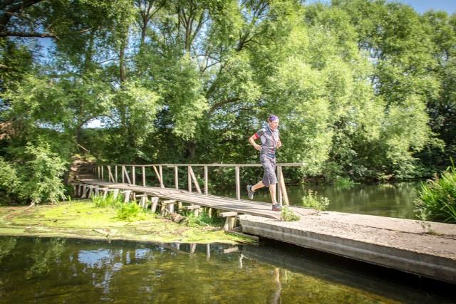 денис на мосту